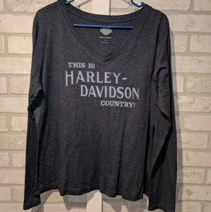 Harley Davidson graphic t shirt, 2X